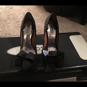 Bad glen Mischa satin heels